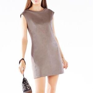 BCBG Karlee Faux Leather Dress